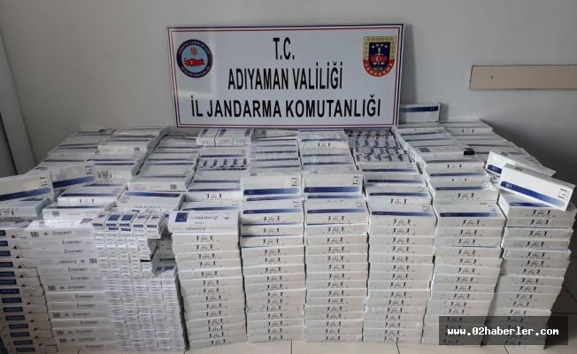 19 Bin Paket Kaçak Sigara Ele Geçirildi