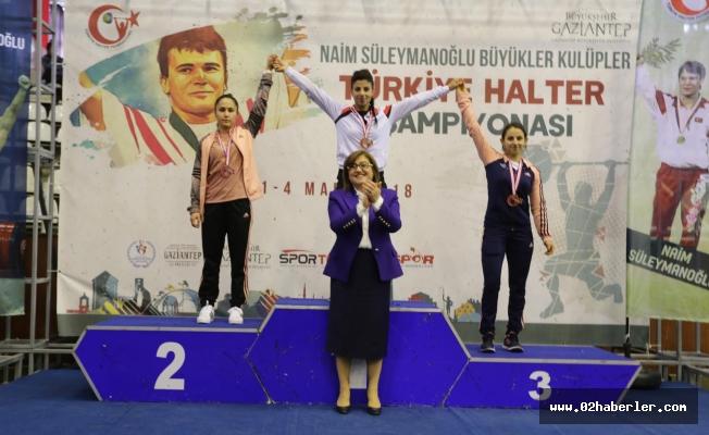 Adıyamanlı Halterci Türkiye 2.'si Oldu