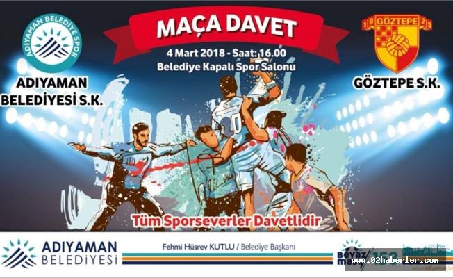 Belediyespor, Göztepe'yi Ağırlıyor