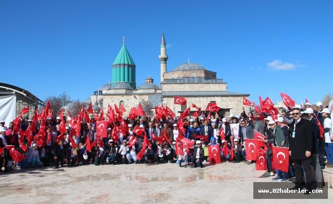 Adıyamanlı Öğrenciler Konya'da