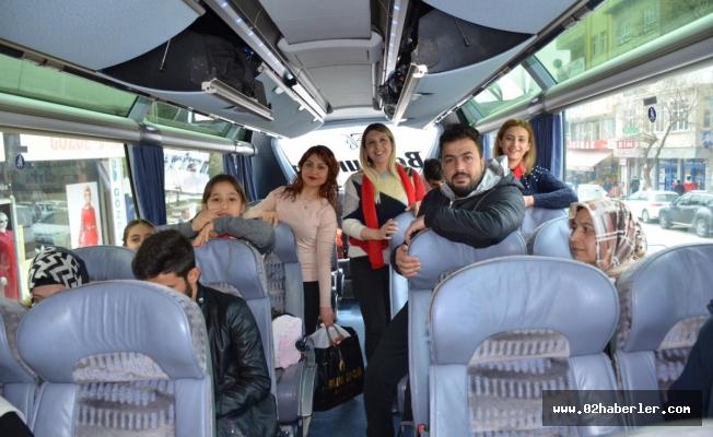 CHP Besni Kadın Kollarından Çanakkale Gezisi