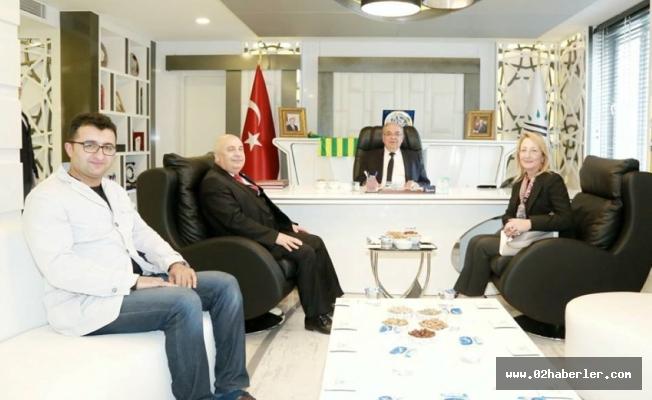 Dedeoğlu'ndan, Başkan Kutlu'ya Ziyaret