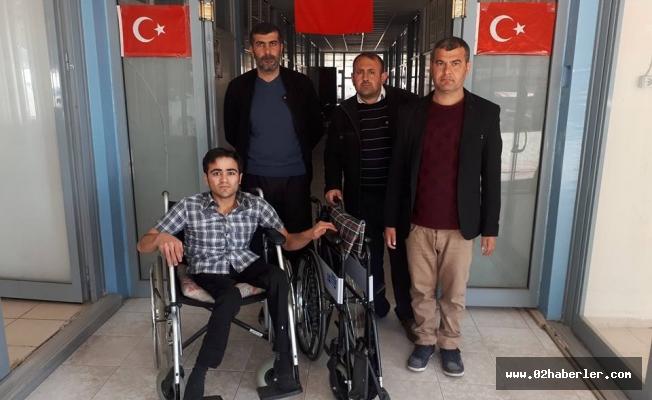 Engelli Şahsın Tekerlekli Sandalye Sevinci