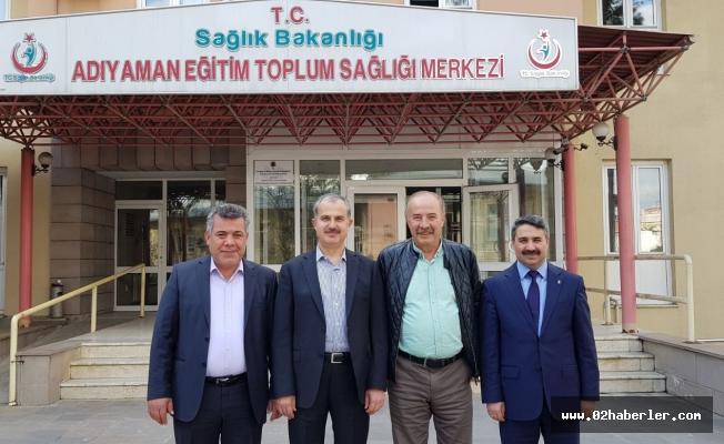 Erdoğan ve Alkayış'tan Doktorlara Ziyaret