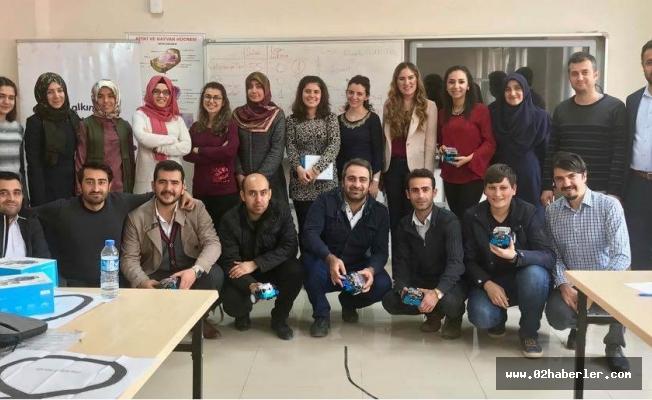Gerger'de Öğretmenlere STEM Eğitimi
