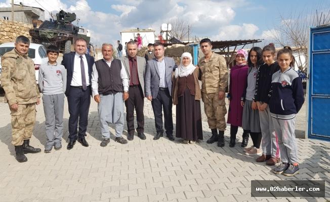 KYK Yönetiminden Şehit Ailelerine Ziyaret