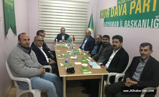 Memur Sen'den Saadet Partisi ve Hüda Par'a Ziyaret