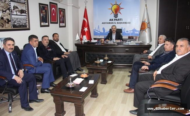 Saadet Partisi'nden AK Partiye Ziyaret