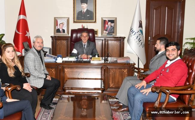 Yeşilay Derneği'nden Vali Kalkancı'ya Ziyaret