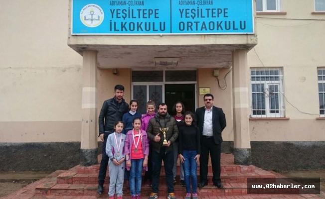 Yeşiltepe Ortaokulunun Atletizm Başarısı