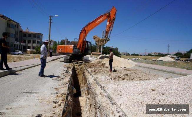 Adıyaman Belediyesi Altyapı Çalışmalarını Sürdürüyor