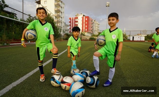 Adıyaman Belediyesi Spor Okulları Yoğun İlgi Görüyor