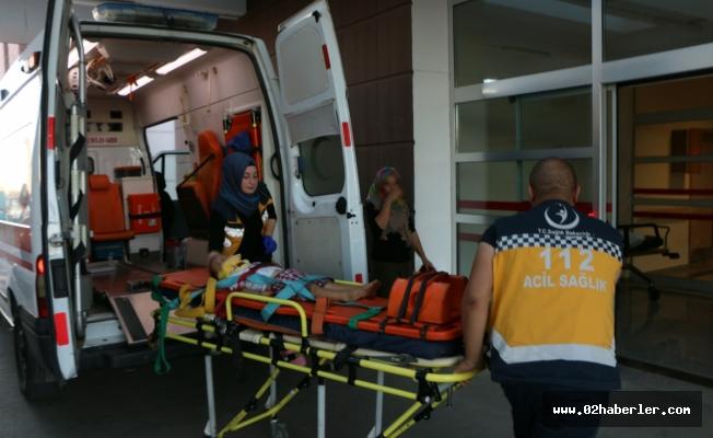 Adıyaman'da Yüksekten Düşen Çocuk Yaralandı
