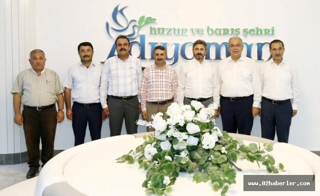 AK Parti Heyetinden Başkan Kutlu'ya Ziyaret