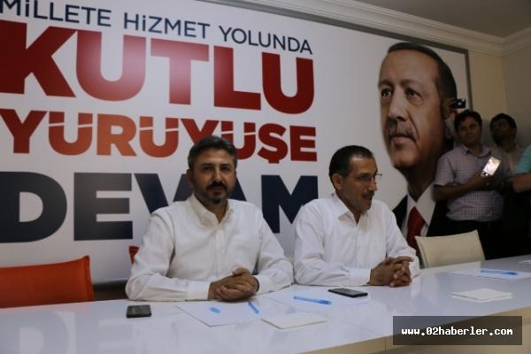 AK Parti İlçe Başkanlar Toplantısı Yapıldı