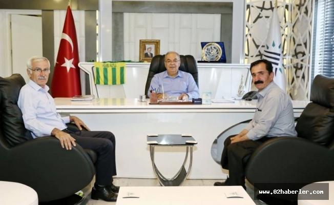 Alevi Kültür Derneğinden Başkan Kutlu'ya Ziyaret