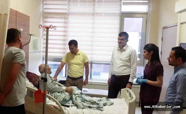 Başhekim Doğan'dan Hastalara Bayram Ziyareti