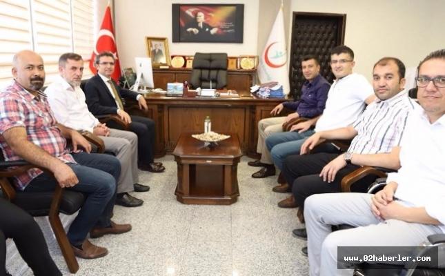 Başsavcı Karabacak'tan Başhekim Doğan'a Ziyaret