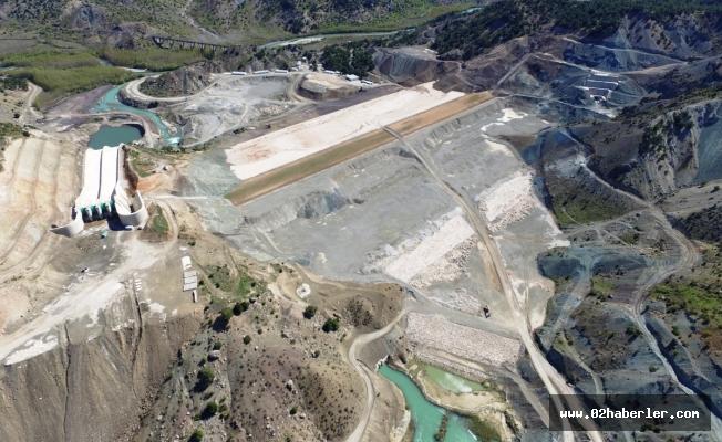 Çetintepe Barajında Çalışmalar Devam Ediyor