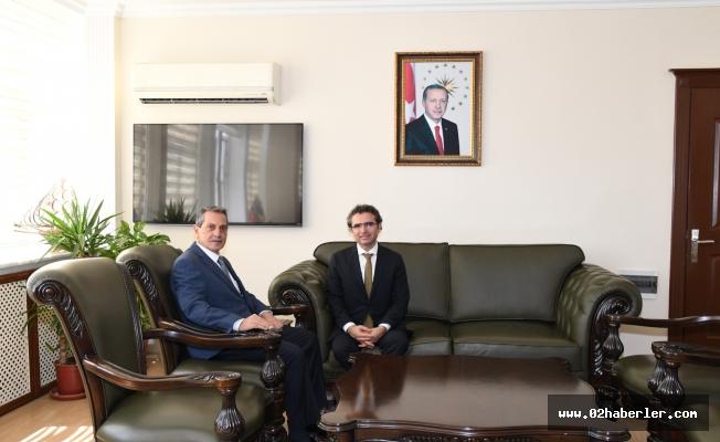 Cumhuriyet Başsavcısı Karabacak'tan, Vali Kalkancı'ya Veda Ziyareti