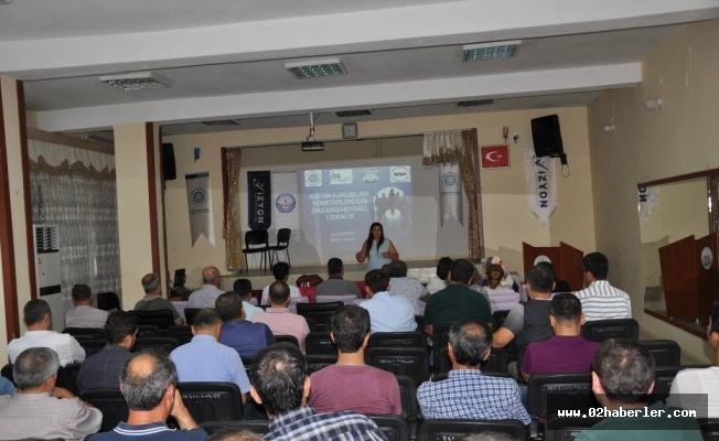 """""""Eğitim Kurumları Yöneticileri İçin Organizasyonel Liderlik"""" Semineri"""