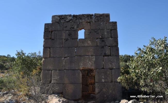 Gerger'de Askeri Roma Dönemine Ait Gözetleme Kulesi Bulundu