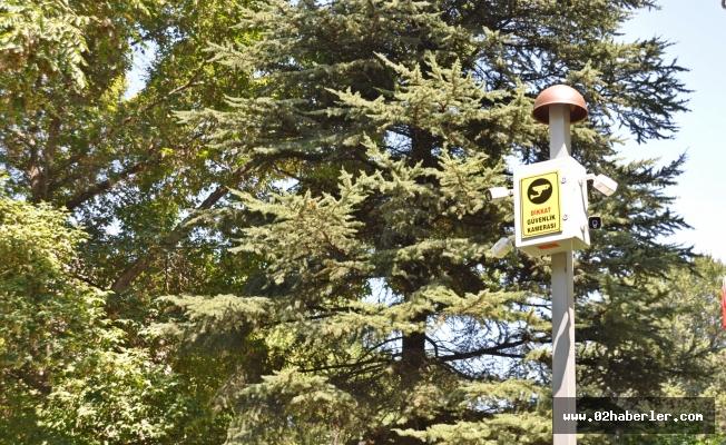 Gölbaşı'nda Parklara Güvenlik Kamerası