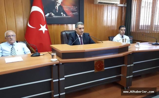 İl Genel Meclisi'nde Ağustos Mesaisi Başladı