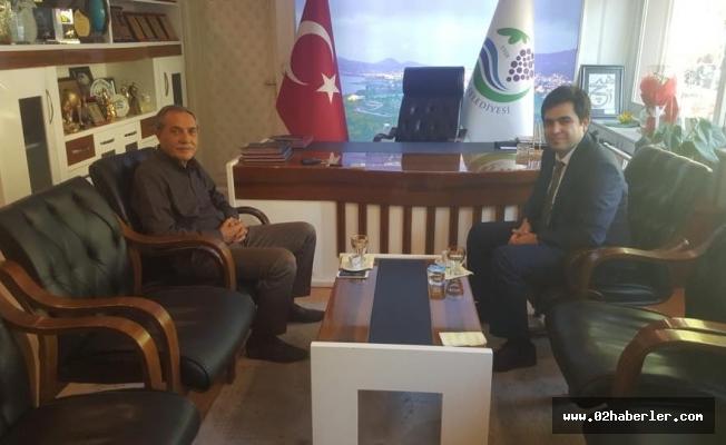 İlçe Emniyet Müdürü'nden Başkan Özdemir'e Ziyaret