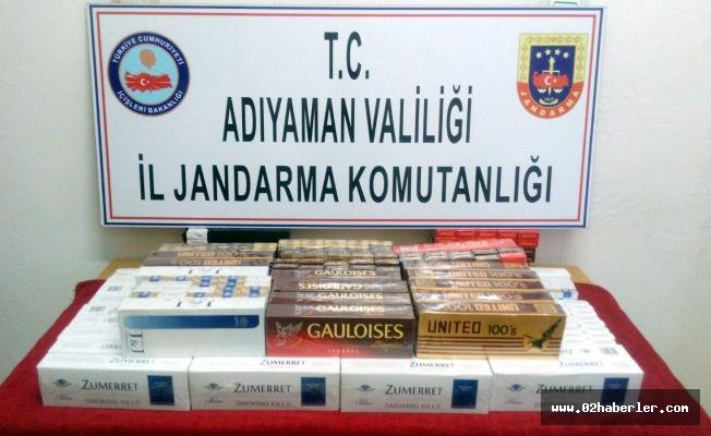 Kaçak Sigara Operasyonu: 1 Gözaltı