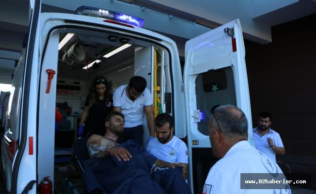 Mermer Ocağında Tiner Kazanı Patladı: 2 Yaralı