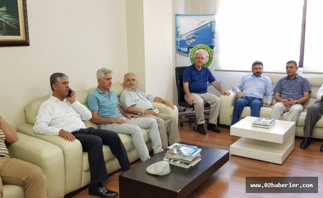 Milletvekili Aydın'dan, Adıyamanlılar Vakfına Ziyaret