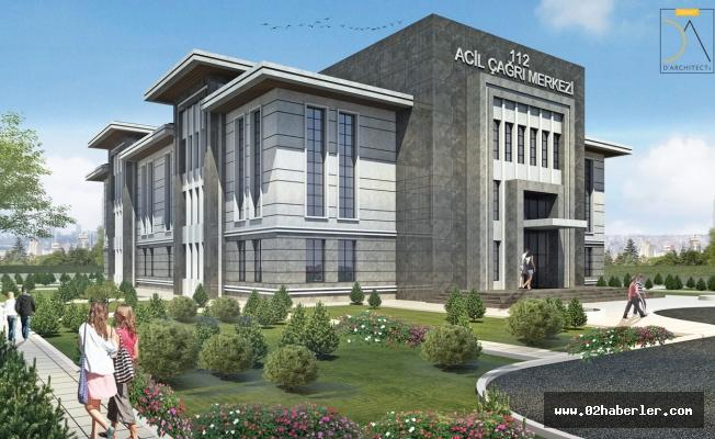 112 Acil Çağrı Merkezi İnşaatına Başlandı