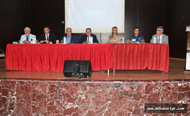 Adıyaman'da Okul Güvenliği Toplantısı Yapıldı