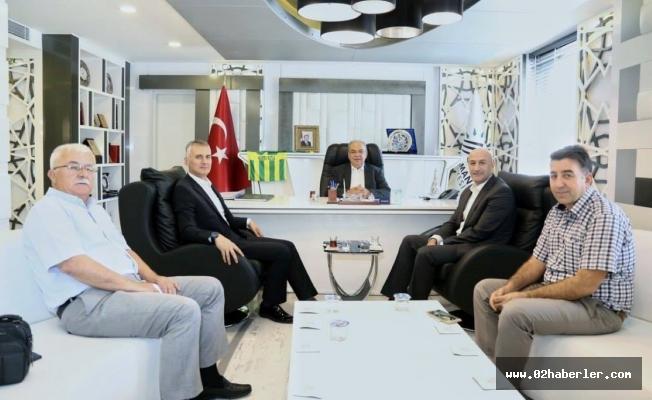 Akmercan Gaz Genel Müdürü Keskin'den, Başkan Kutlu'ya Ziyaret