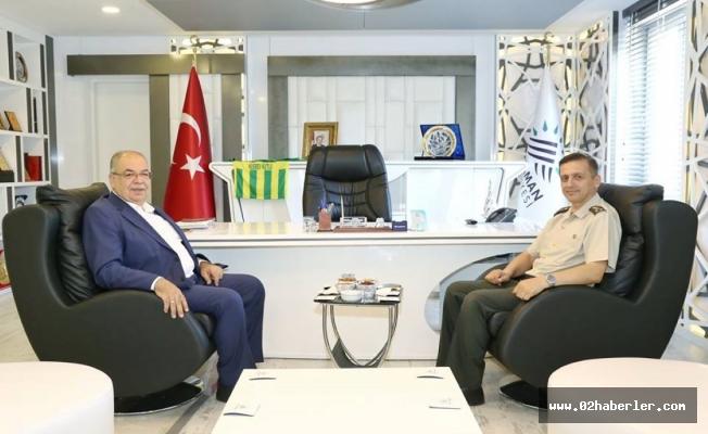 Albay Gürfidan'dan, Başkan Kutlu'ya Ziyaret