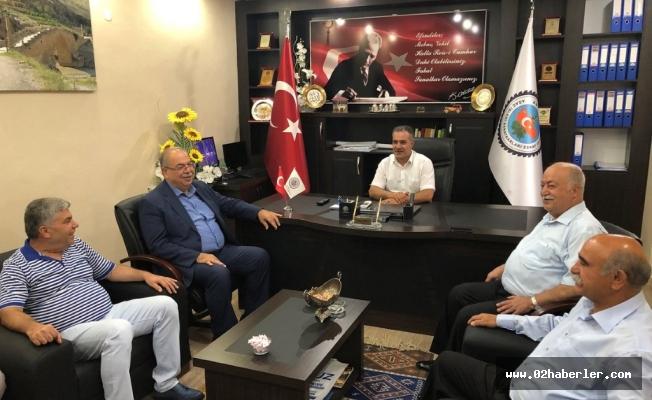 Başkan Kutlu, Esnaf Temsilcileriyle Bir Araya Geldi