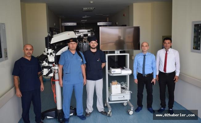 Besni'de Ameliyatlar Daha Kolay Yapılacak