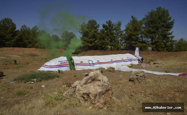 Düşen Uçağa UMKE  ve AFAD Ekipleri Yetişti
