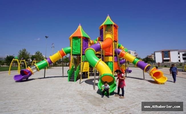 Eğriçay Parkının Oyun Grupları Yenilendi