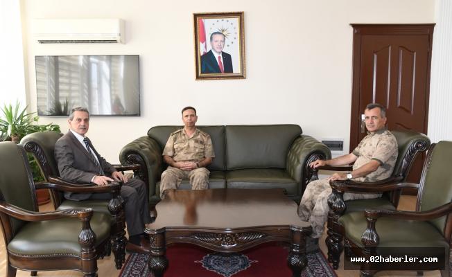Jandarma Bölge Komutanından Vali Kalkancı'ya Ziyaret