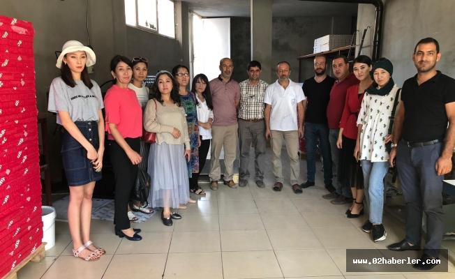 Kazakistanlı Gazeteciler Adıyaman'da