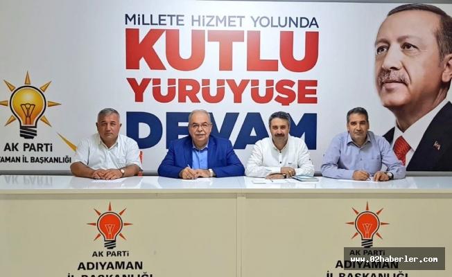 Kutlu, AK Parti Merkez İlçe Yönetimiyle Bir Araya Geldi