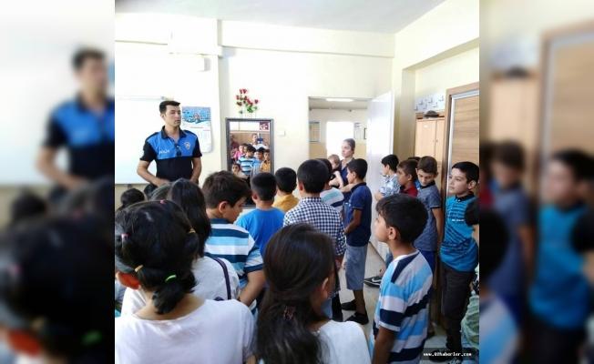 Toplum Destekli Polislerden, Minik Öğrencilere Ziyaret