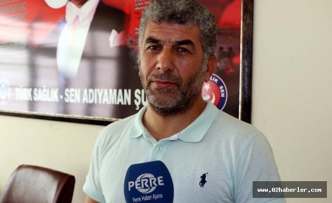 Türk Sağlık Sen Adıyaman Şubesinden Basın Açıklaması