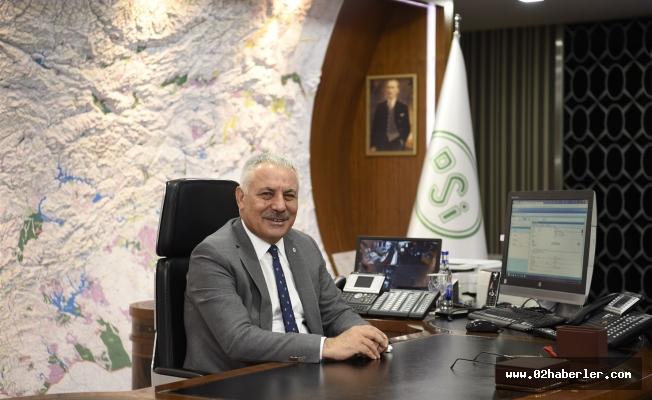 DSİ Genel Müdürü Aydın'dan Arazi Toplulaştırması Açıklaması