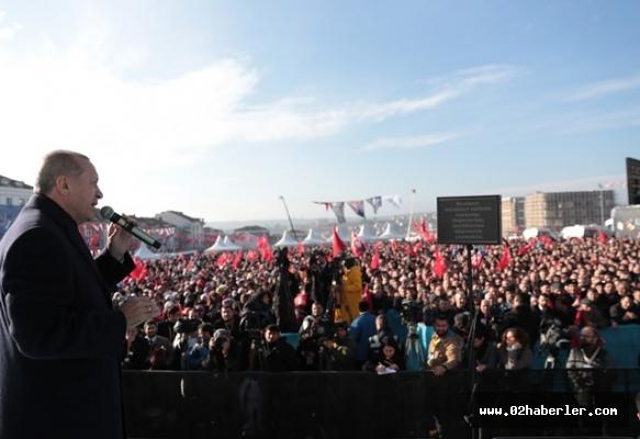"""Başkan Erdoğan """"Netanyahu sen yanlış kapıya vurdun"""""""