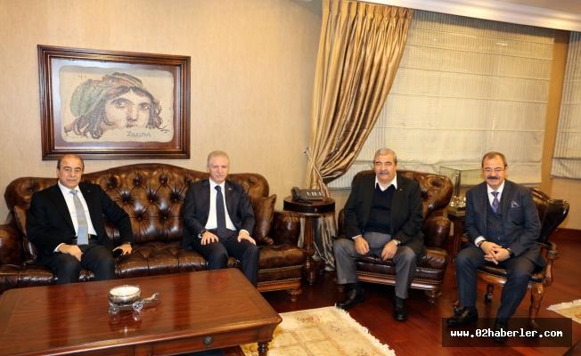 Vali Davut Gül'den Sanko'ya İadeyi Ziyaret