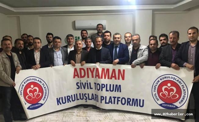 Kılınç, STK Platformu üyeleriyle biraraya geldi