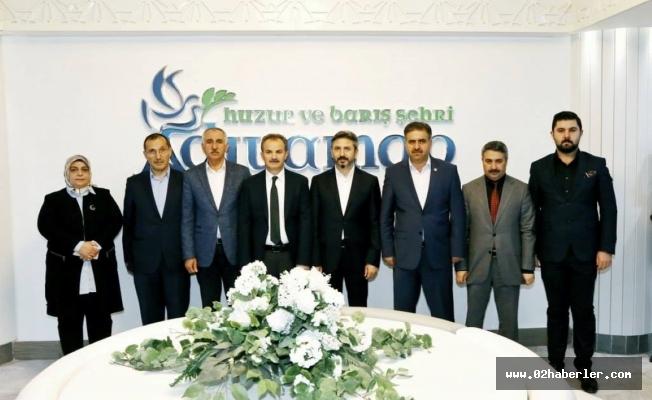 AK Parti Teşkilatından, Başkan Kılınç'a, Tebrik Ziyareti